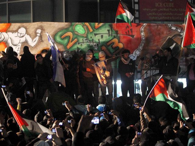 Рамалла. Ночь на 1 января 2013 года