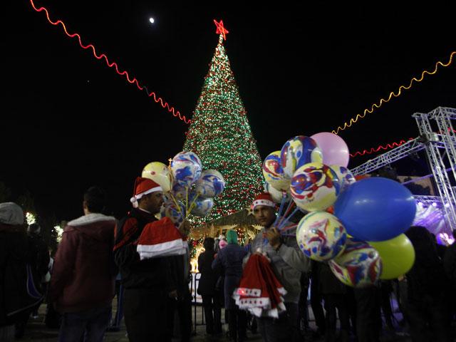 Бейт-Лехем (Вифлеем). Рождество 2012 года