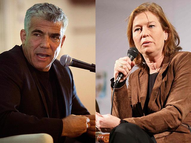 Ливни и Лапид не хотят присоединяться к правительству Нетаниягу в одиночку