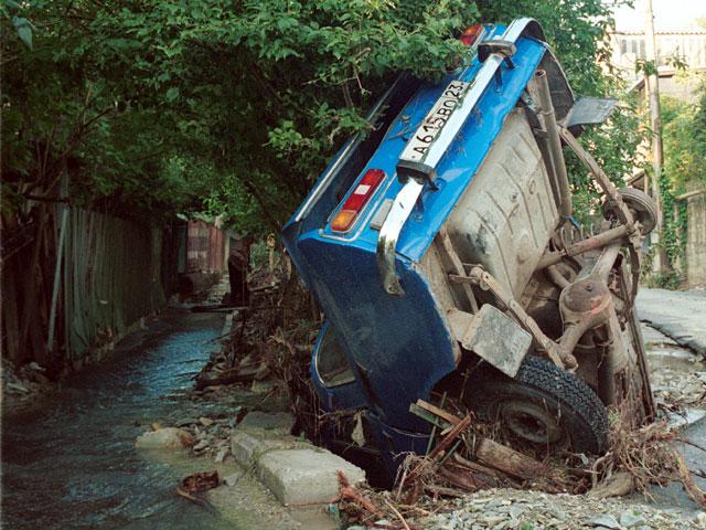 Последствия наводнения в Краснодарском крае (архив)