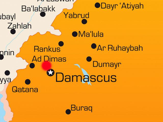 Красным обозначен район Джамрая