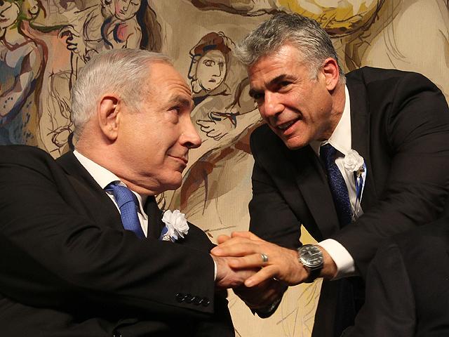 """Партия """"Еш Атид"""" отменила очередной раунд переговоров с """"Ликуд Бейтейну"""""""