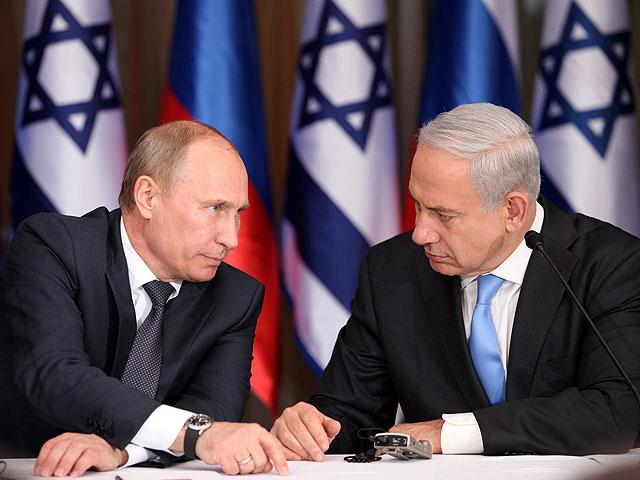 Путин поздравил Нетаниягу и пригласил его в Москву