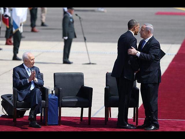 Нетаниягу: мы приготовили для Обамы фальшивые усы, если он захочет погулять один