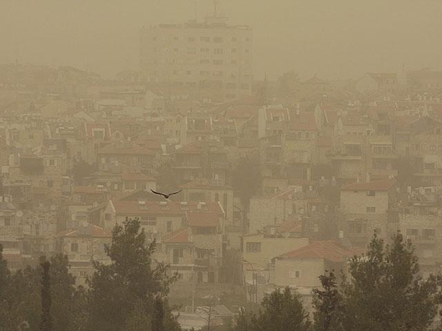 Обама не смог улететь в Бейт-Лехем из-за пыли.  Полиция перекрывает улицы Иерусалима