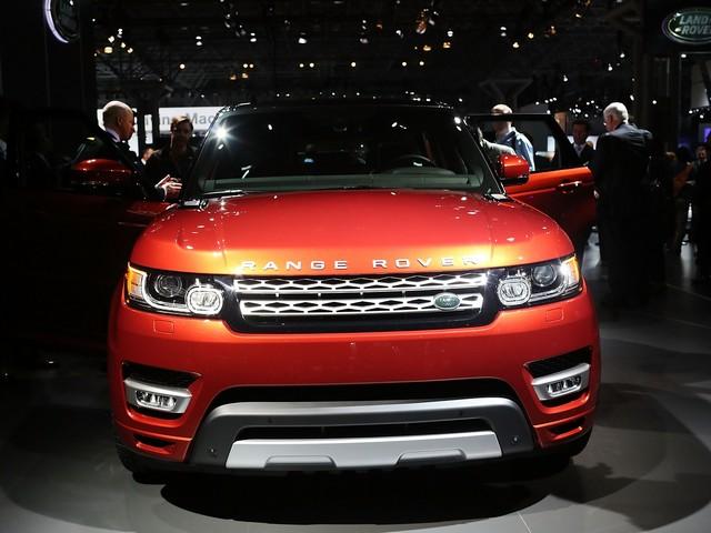 Новый Land Rover Sport