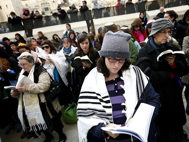 """Полиция Иерусалима запретила """"Женщинам Стены"""" читать """"Кадиш"""""""