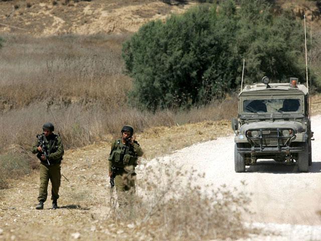 На границе с Сирией обстрелян израильский военный патруль