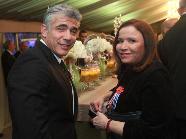 Яир Лапид и Шели Яхимович