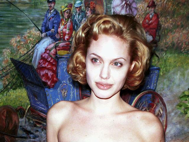 Анджелина Джоли в 1999-м году
