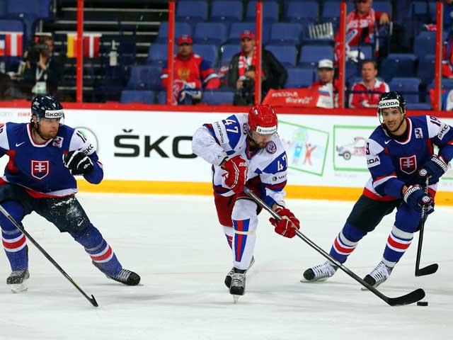 Чемпионат мира по хоккею: россияне победили сборную Словакии