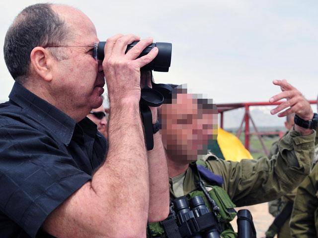 Министр обороны Израиля Моше Яалон