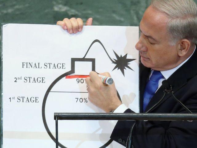 """Биньямин Нетаниягу и """"красная линия"""" иранской ядерной программы"""