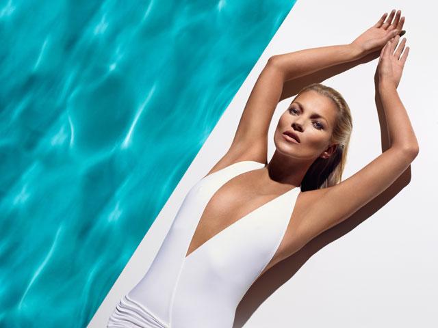Кейт Мосс в рекламе St.Tropez