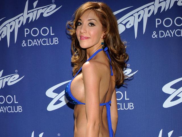 Фарра Авраам в клубе Sapphire Pool & Day в Лас-Вегасе. 14 июня 2013 года