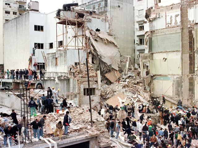 После теракта в еврейском центре в Буэнос Айресе. 18 июля 1994 года