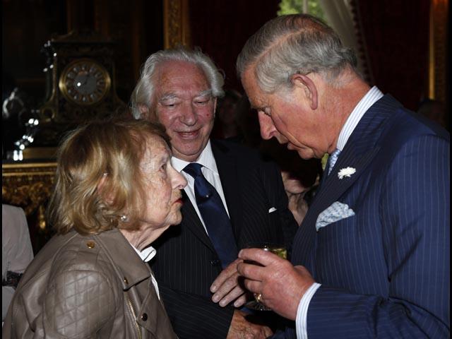 """Принц Чарльз встретился с бывшими """"еврейскими беспризорниками"""". 24 июня 2013 года"""