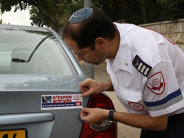 """""""Маген Давид Адом"""" начал кампанию по спасению детей, забытых в машинах"""