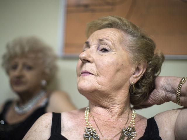 На конкурсе красоты среди женщин, переживших Холокост. Хайфа, 22 августа 2013 года