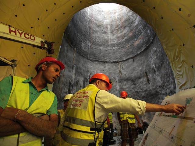 С опережением графика закончилась прокладка туннеля на участке Латрун - Шаар а-Гай