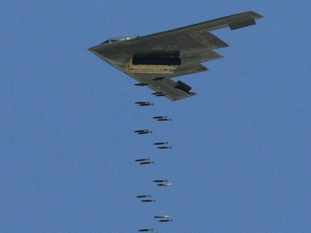 Бомбардировщик B-2 ВВС США