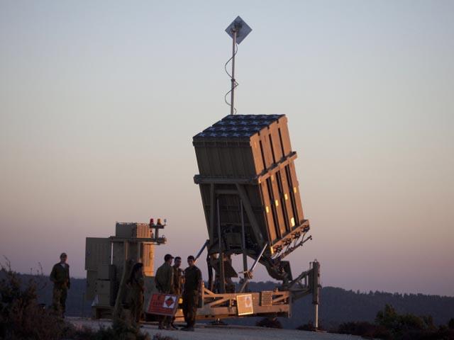 """""""Железный купол"""" в районе Иерусалима. 8 сентября 2013 года"""