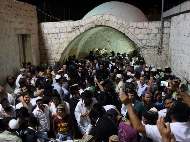 Около гробницы Йосефа в Шхеме