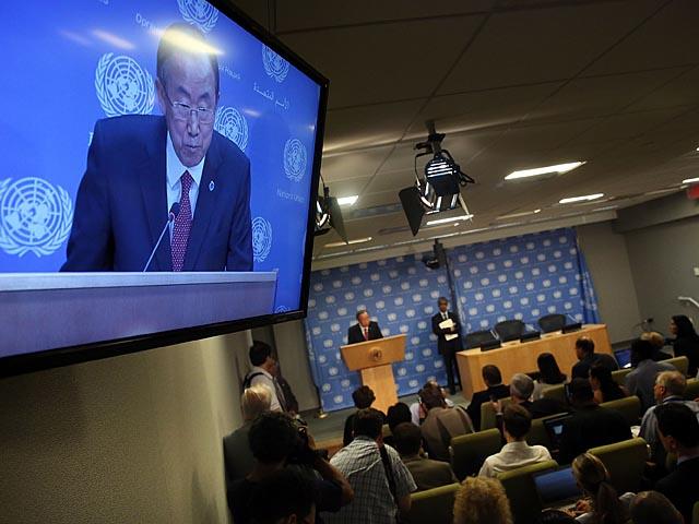 """Подтверждение из ООН о получении документов от Сирии было получено спустя короткое время после того, как в эфире российского телеканала """"Россия-24"""" было показано эксклюзивное интервью с Башаром Асадом"""