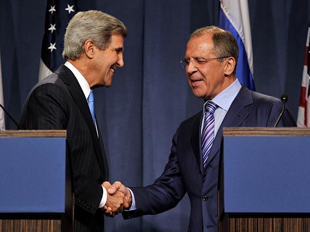 12 сентября в Женеву для переговоров по Сирии прибыли госсекретарь США Джон Керри и министр иностранных дел Сергей Лавров
