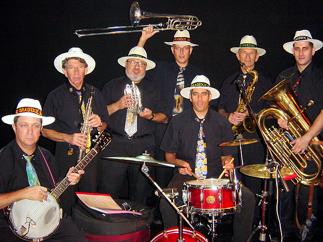 Super-Jazz в Ашдоде: нью-йоркский джазбэнд и израильский диксиленд