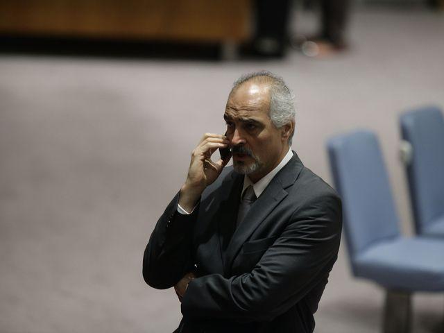 Представитель Сирии в ООН Башар Джаафари. 27.09.2013