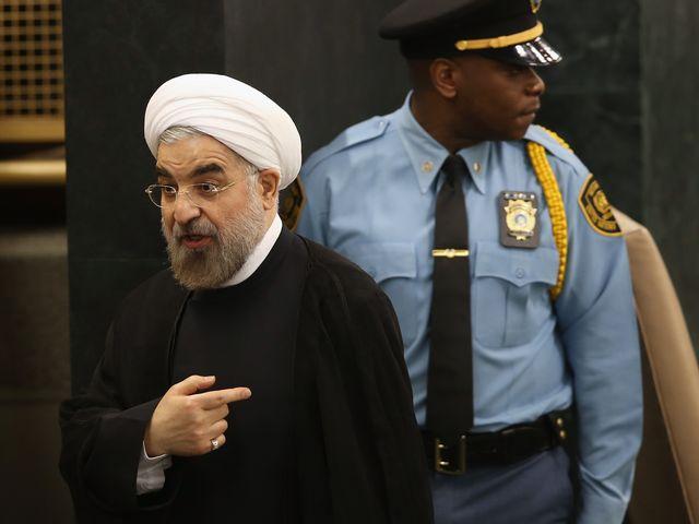 Президент Ирана Хасан Роухани в ООН