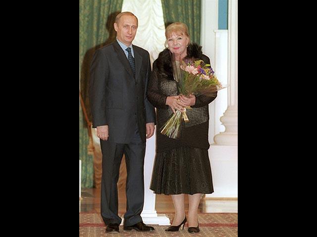 Владимир Путин и Ольга Аросева