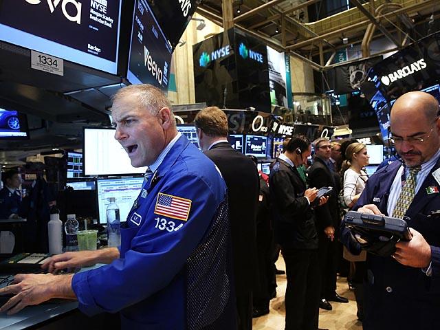 Фондовая биржа в Нью Йорке. 16 октября 2013 года