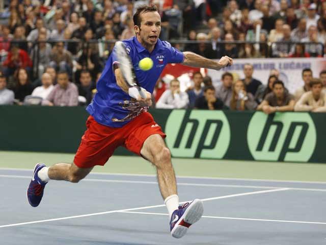 Финал Кубка Дэвиса: Радек Штепанек приносит чехам победу над сборной Сербии