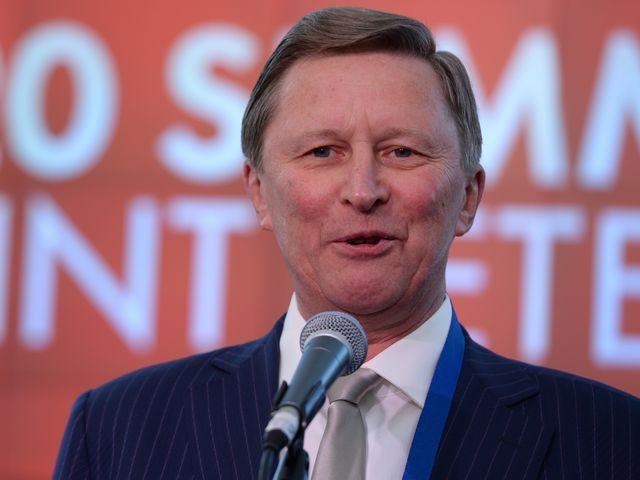 Глава администрации президента РФ Сергей Иванов