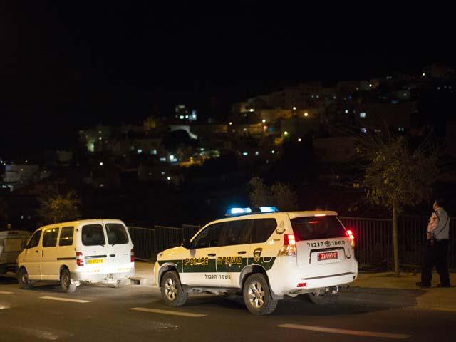 На месте происшествия. Армон а-Нацив, Иерусалим. 28 ноября 2013 года