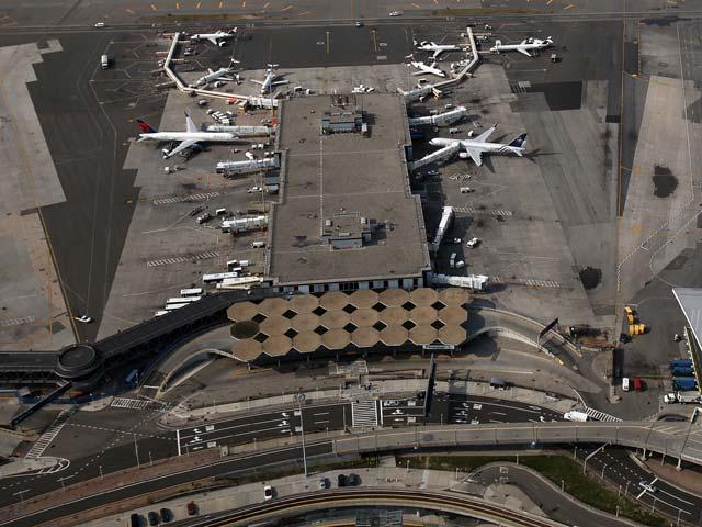 Аэропорт имени Кеннеди. Нью-Йорк