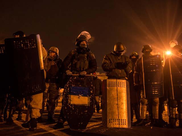 Киев. 26 января 2014 года