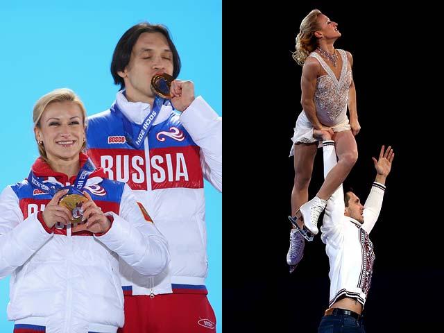 Татьяна Волосожар и Максим Траньков (Россия) – фигурное катание, две золотые медали