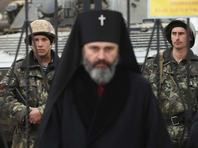 Перевальное. Крым. 2 марта 2014 года
