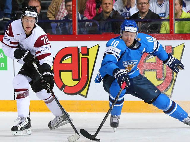 Сенсация чемпионата мира: сборная Латвии победила финнов
