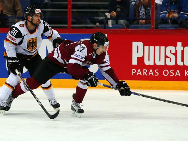 Чемпионат мира по хоккею: немцы обыграли сборную Латвии