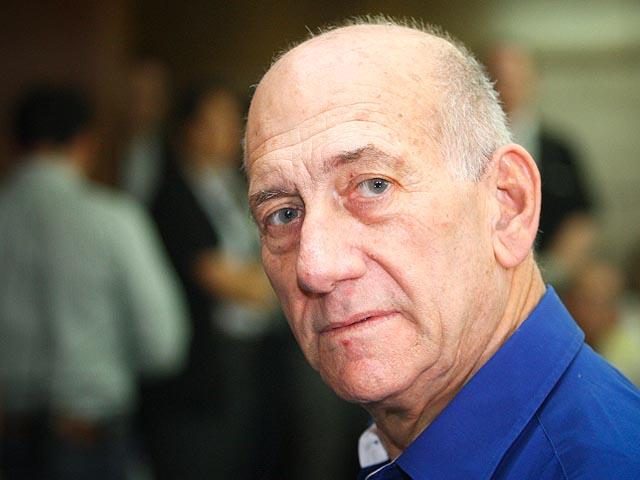 Эхуд Ольмерт в зале суда. 13 мая 2014 года