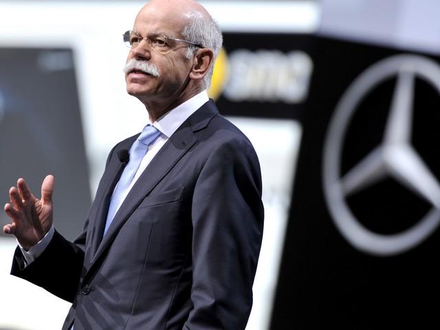 Глава концерна Daimler Дитер Цетше