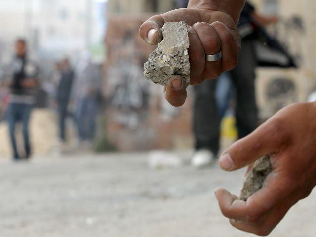 Полиция Иудеи и Самарии задержала палестинских камнеметателей