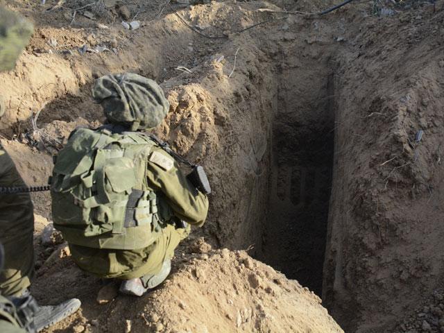 ЦАХАЛ уничтожил террористов, проникших через тоннель на территорию Израиля