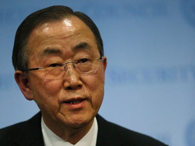 Генсек ООН Пан Ги Мун продвигает новую инициативу по прекращению огня