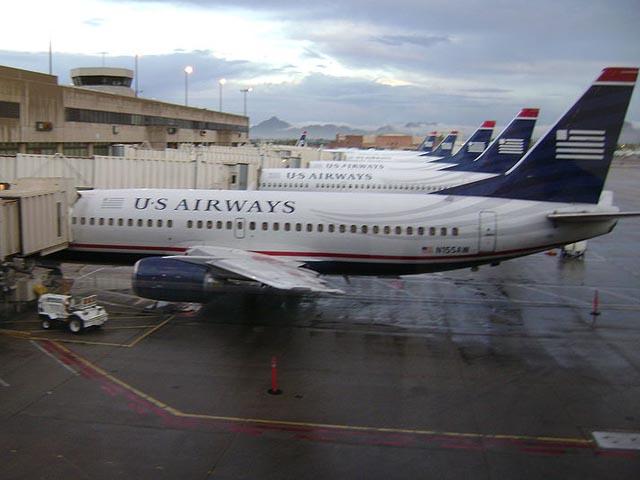 Самолет US Airways