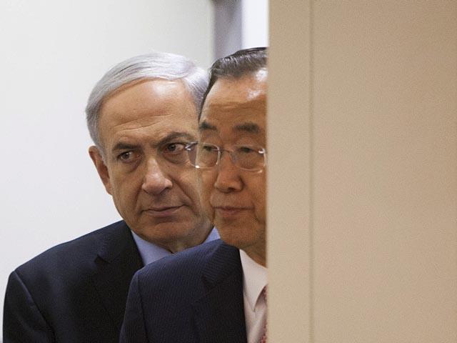 Брифинг главы правительства Биньямина Нетаниягу и генсекретаря ООН Пан Ги Муна. 22 июля 2014 года